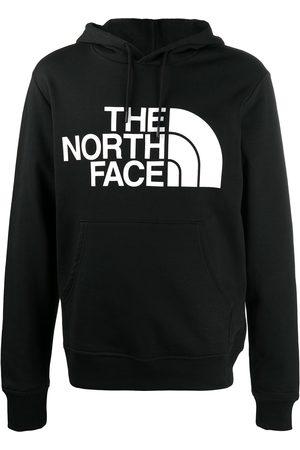 The North Face Logo print drawstring hoodie