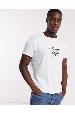 Tommy Hilfiger Lounge t-shirt in with script logo