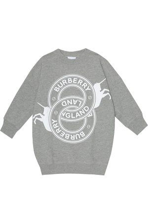 Burberry Cotton jersey sweatshirt dress