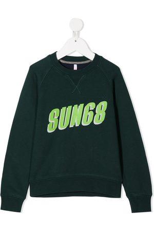 sun68 Slogan print sweatshirt