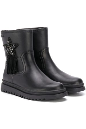 Geox Star patch ankle boots