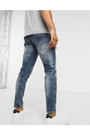 G-Star D-Staq 3D slim fit jeans in medium aged