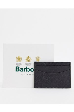 Barbour Grain leather card holder in
