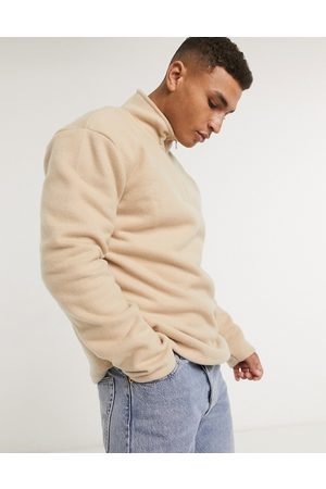 New Look Funnel neck fleece sweat in
