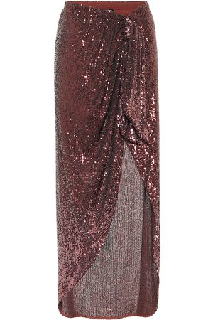 Balmain Sequined maxi skirt