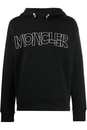 Moncler Logo-print long-sleeved hoodie