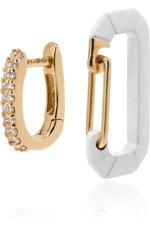 Eera 18kt yellow gold Chiara diamond earring