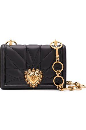 Dolce & Gabbana Quilted Devotion shoulder bag