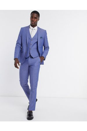 Farah Plain slim fit suit waistcoat