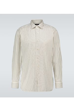THE GIGI Long-sleeved striped shirt