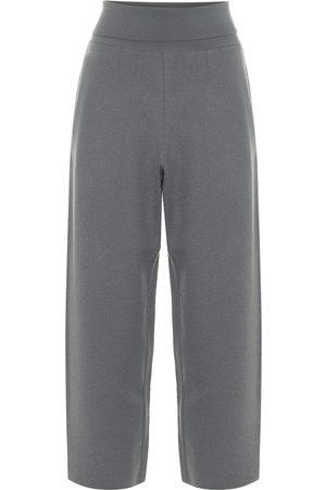Stella McCartney Virgin wool wide-leg cropped pants