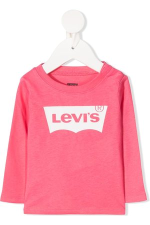Levi's Logo print long-sleeved T-shirt