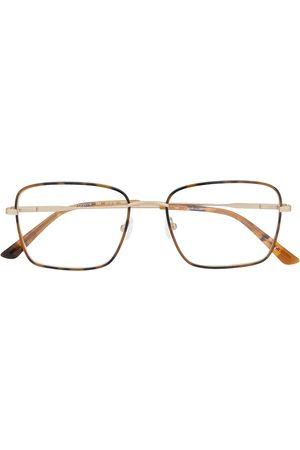 Calvin Klein Oversized-frame logo glasses