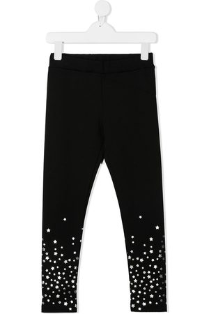 Moncler Star patch fitted trousers