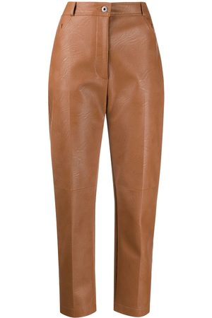 Stella McCartney Hayley faux-leather trousers