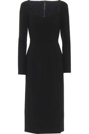Dolce & Gabbana Stretch-jersey midi dress