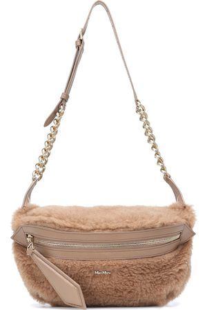 Max Mara Banane camel-blend belt bag
