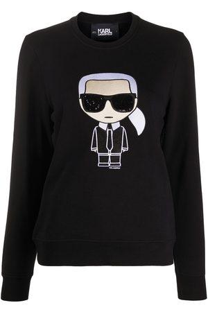 Karl Lagerfeld K/Ikonik crewneck sweatshirt