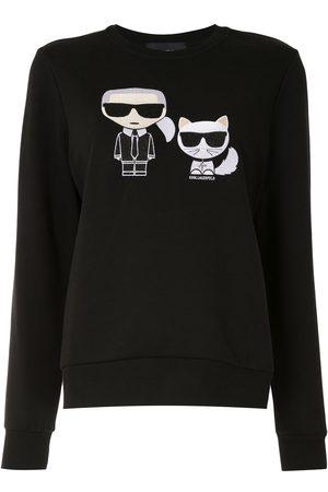 Karl Lagerfeld Ikonik Karl&Choupette sweatshirt