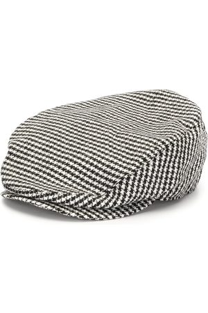 Dolce & Gabbana Men Hats - Check pattern cotton hat