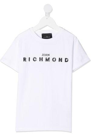 John Richmond Junior Short sleeve logo print T-shirt