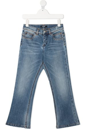 Balmain Mid-rise straight leg jeans