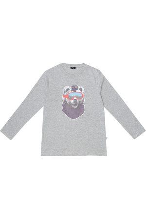 Il gufo Printed cotton top
