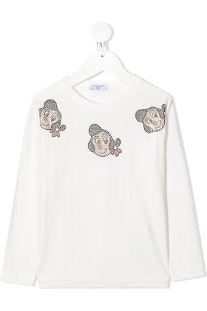 MONNALISA Mosaic Olive Oyl sweatshirt