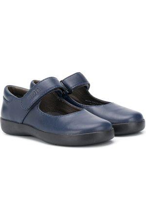 Camper Kids Touch strap fastening ballerina shoes