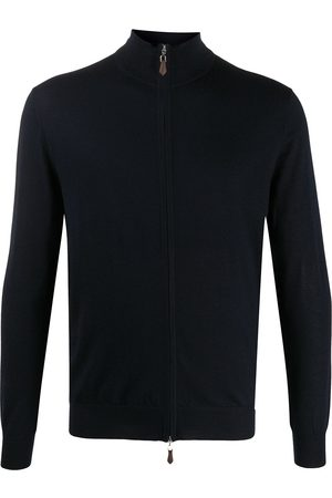 N.PEAL Long sleeve zipped sweater