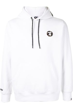 AAPE BY *A BATHING APE® Embroidered logo patch hoodie