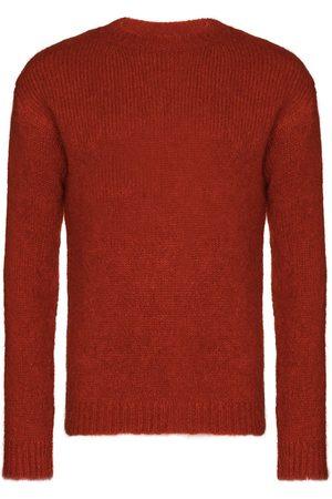 ANN DEMEULEMEESTER Fine-knit long-sleeve jumper