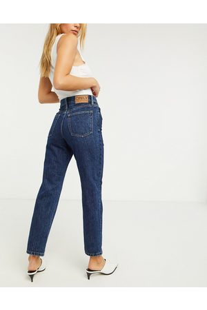 ONLY Fine straight leg jeans with high waist in