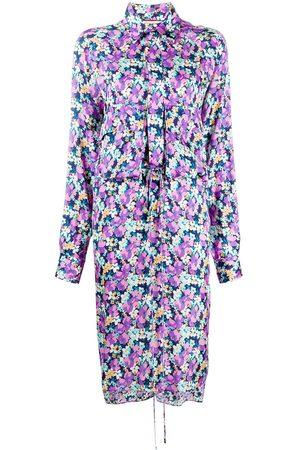 Plan C Flower midi dress