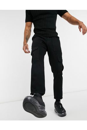 ASOS Classic rigid jeans with cargo pocket in