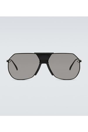 Bottega Veneta Metal frame sunglasses