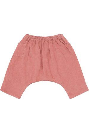 Caramel Baby Crow cotton corduroy pants