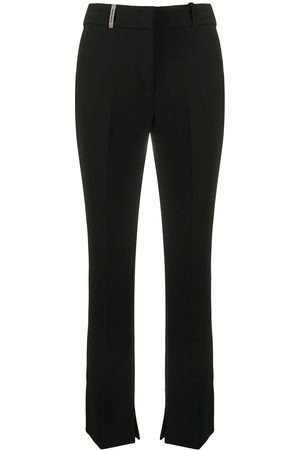 PESERICO SIGN Bootcut cropped trousers