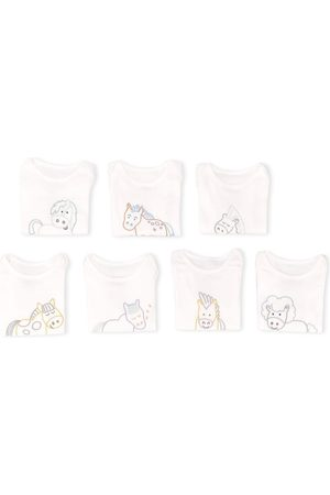 Stella McCartney X7 horse embroidered bodies