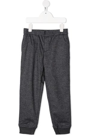Emporio Armani Side stripe knitted trousers