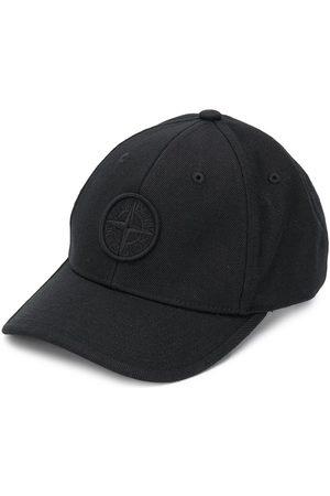 Stone Island Boys Hats - Embroidered logo baseball cap