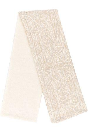 Moncler Intarsia knit scarf