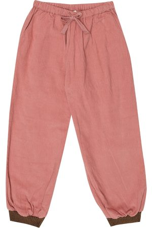 Caramel Girls Pants - Wren cotton corduroy pants