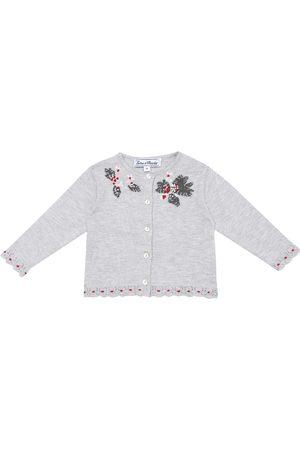 Tartine Et Chocolat Cardigans - Baby embroidered cardigan