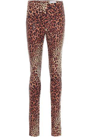 Stand Studio Cordelia leopard-print leggings