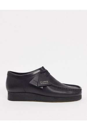 Clarks Wallabee shoes in leather