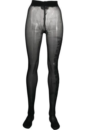 Philipp Plein Gem-embellished tights