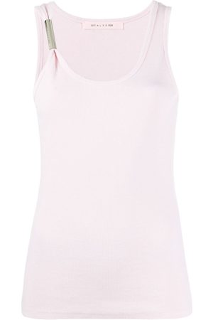 1017 ALYX 9SM Ribbed knit asymmetric tank top
