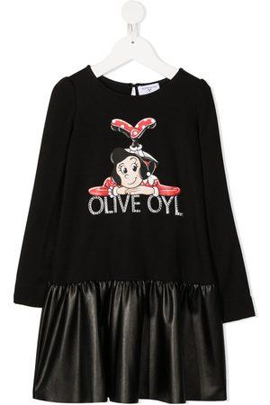 MONNALISA Olive oyl t-shirt dress