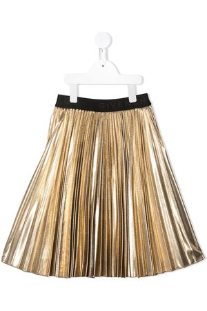 Givenchy Lurex pleated skirt